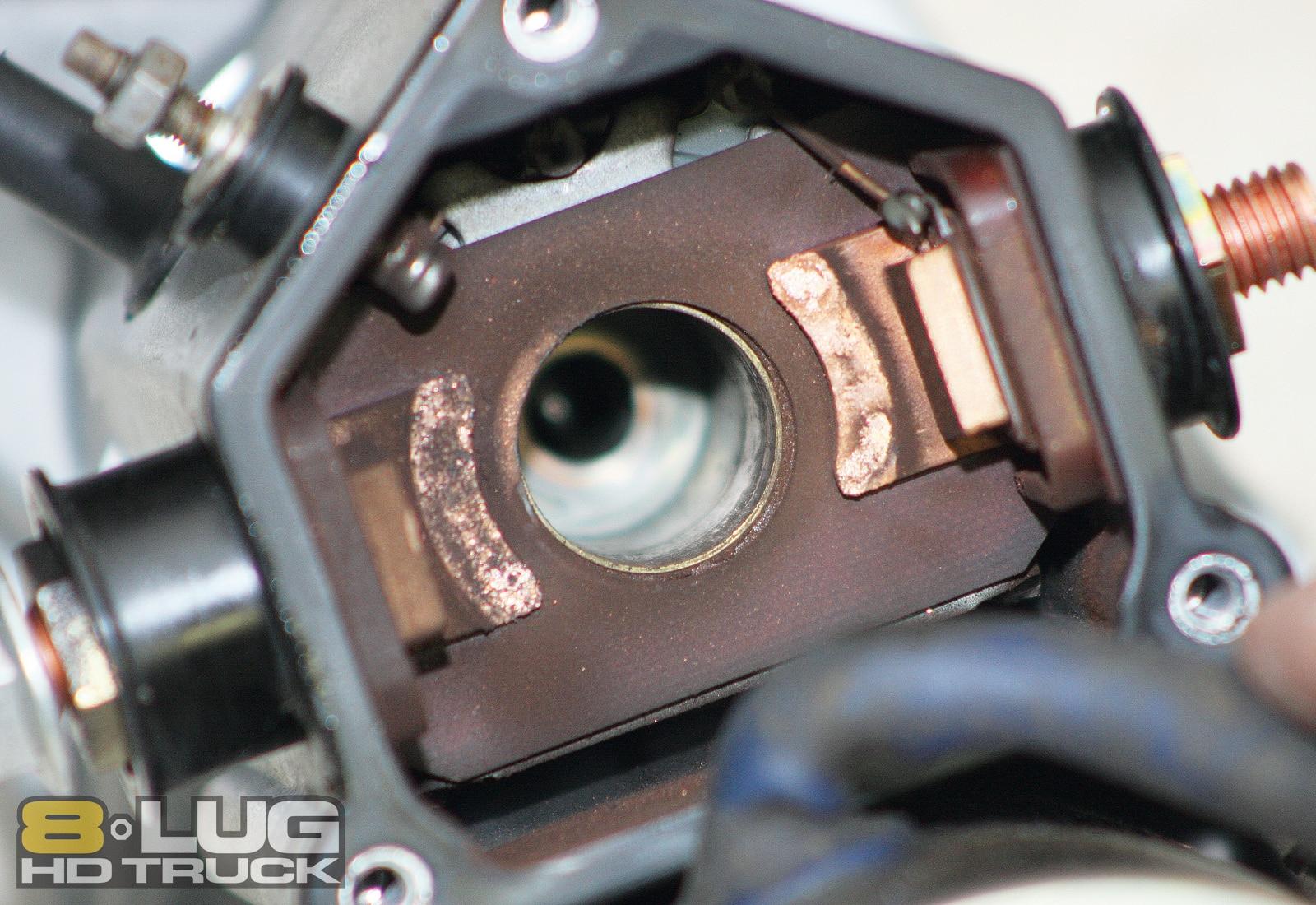Starter Solenoid Repair - Copper Solenoid Contacts - 8-Lug