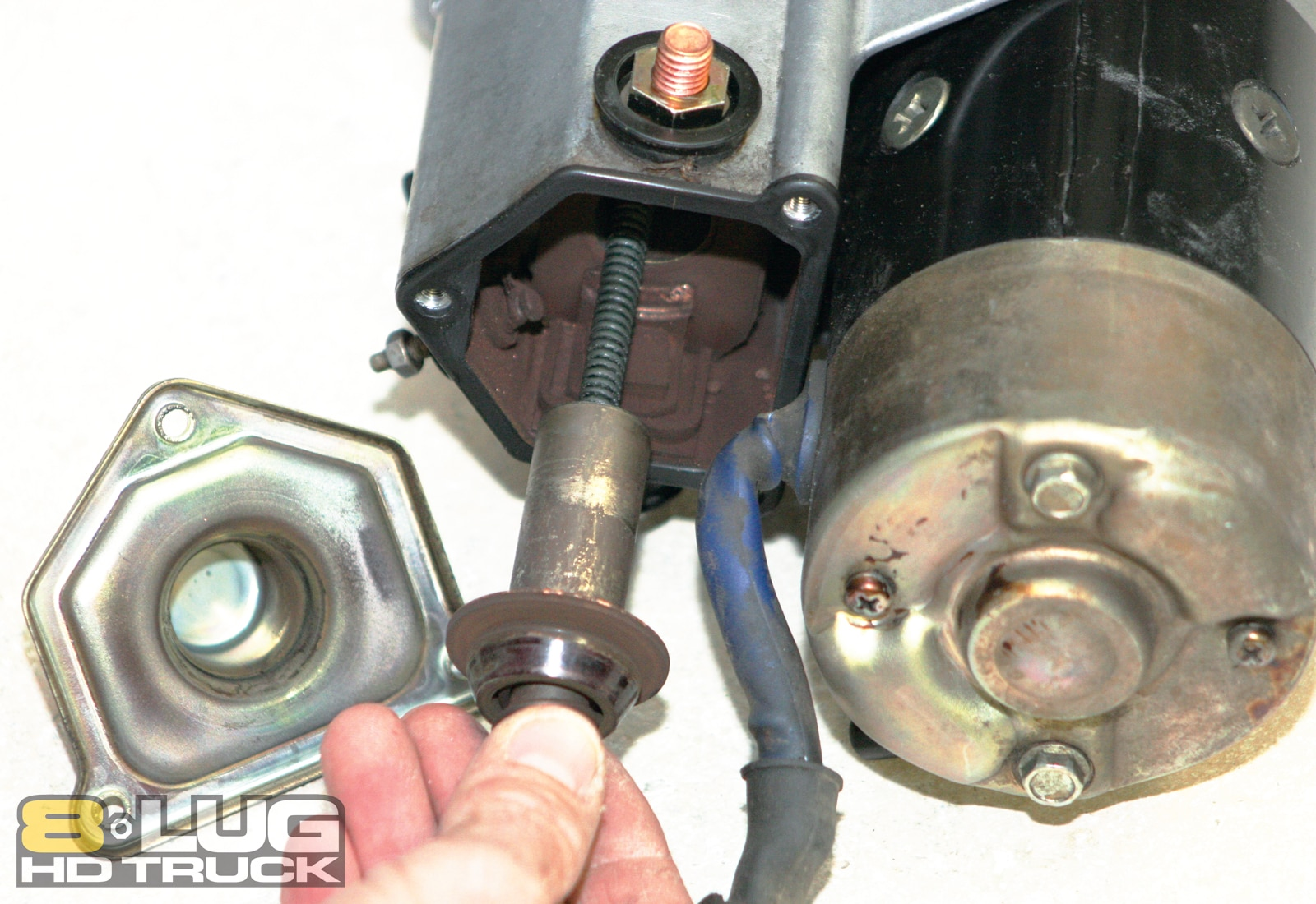 Starter Solenoid Repair - Copper Solenoid Contacts - 8-Lug