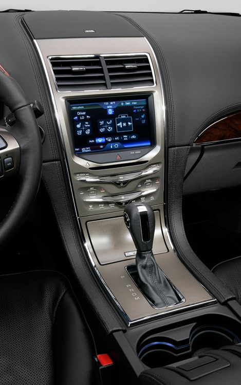 2011 Lincoln MKX Dash Center Stack
