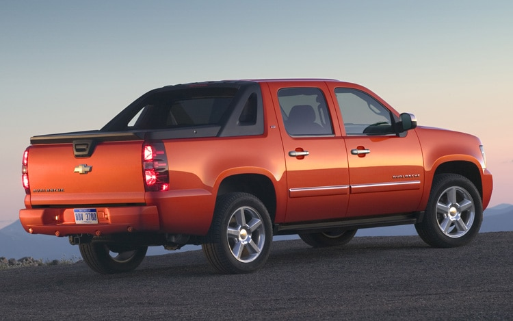 2011 Chevrolet Avalanche Rear View