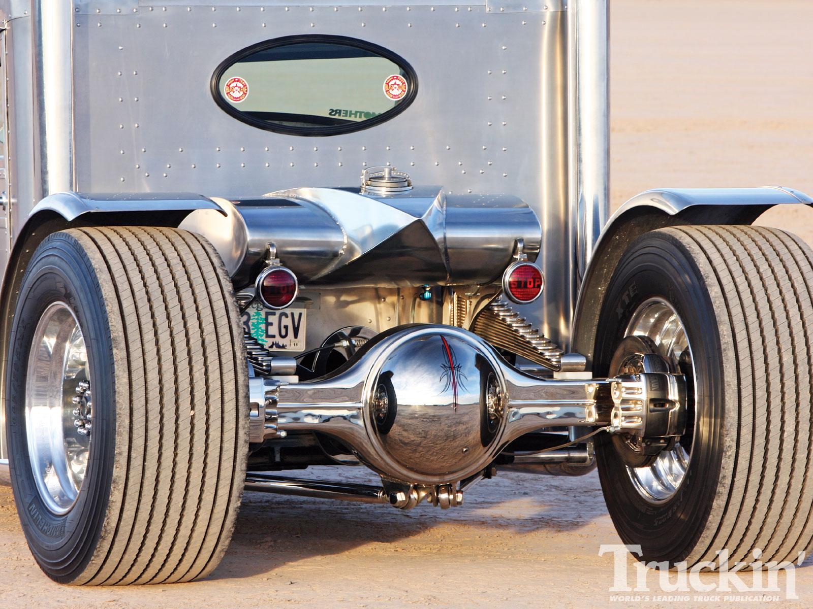 Peterbilt Hot Rod Truck 12v 71 Detroit Diesel Engine Truckin Magazine