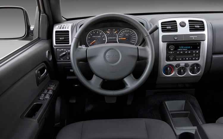 2011 GMC Canyon Dash