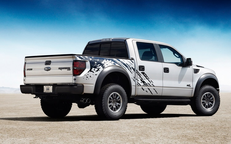2011 Ford F 150 SVT Raptor Rear Three Quarters
