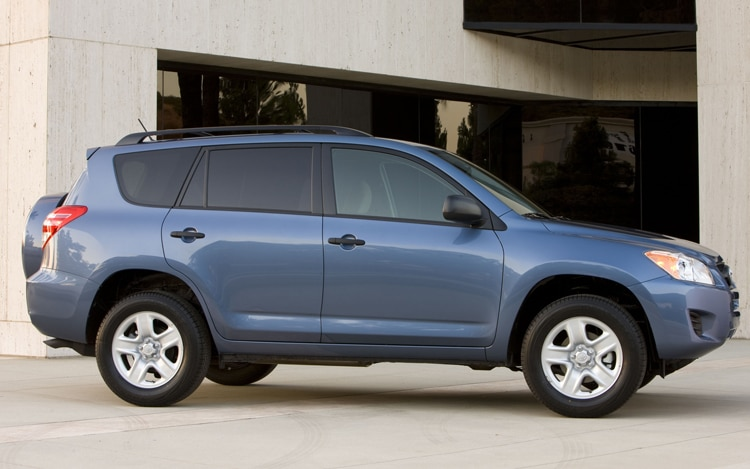 2011 Toyota RAV4 Base Passengers Side Profile