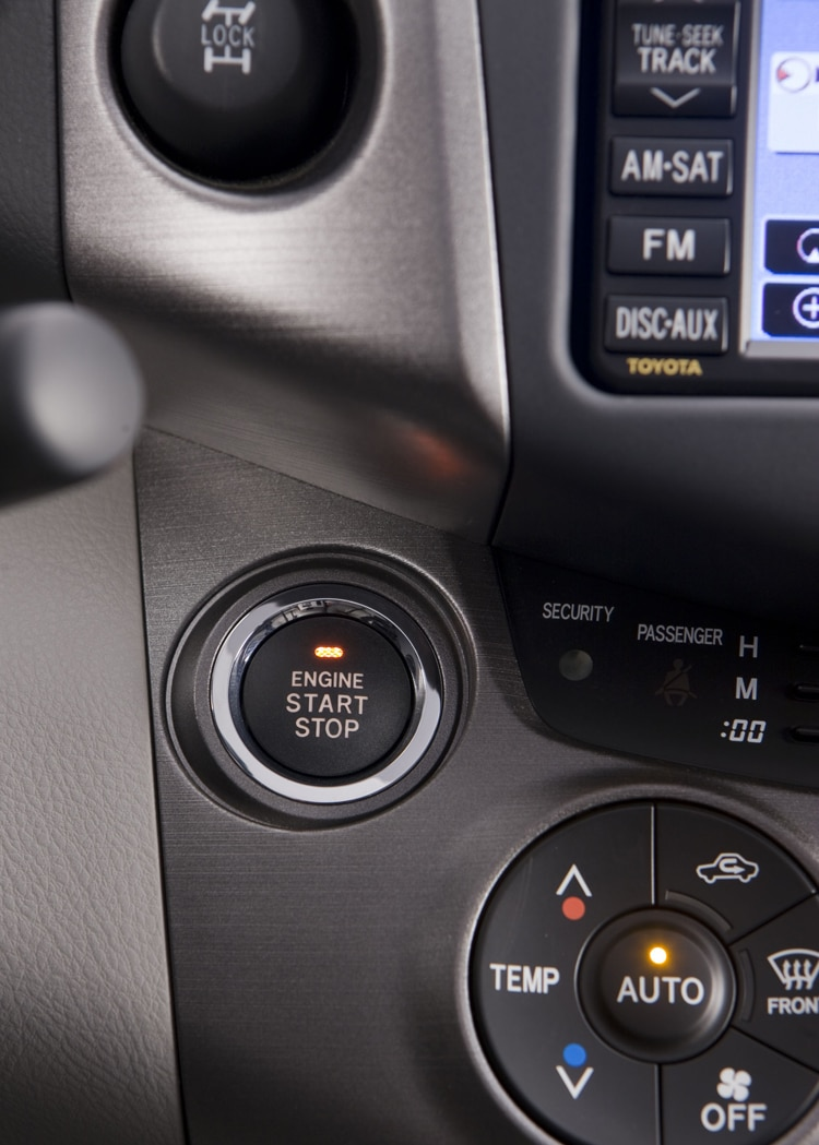 2011 Toyota RAV4 Limited Start Button