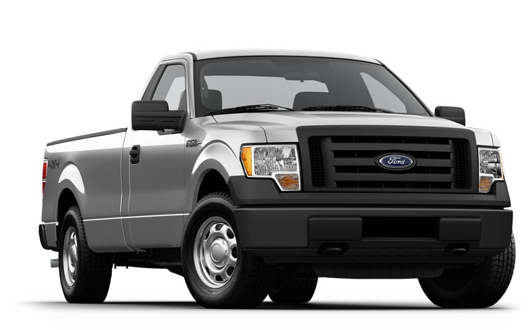 2011 Ford F 150 XL Front View