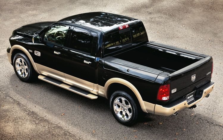 2011 Ram Laramie Longhorn Rear Above View