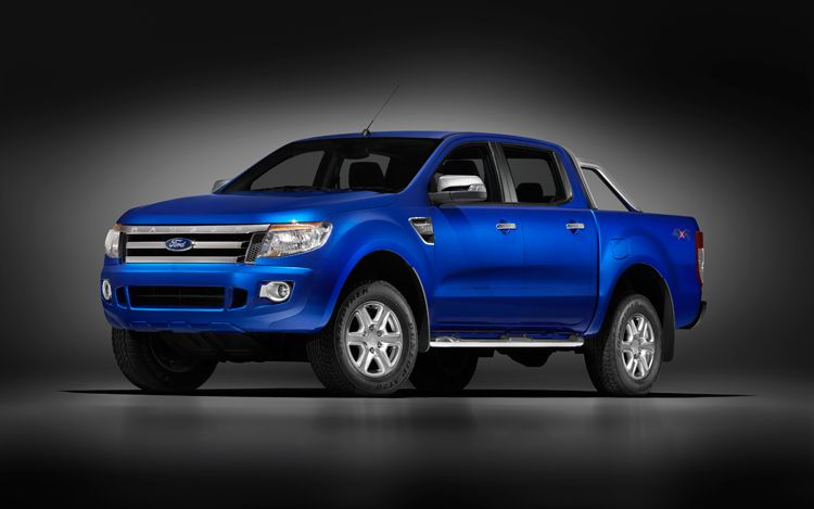 2012 Ford Ranger Front Three Quarters 2