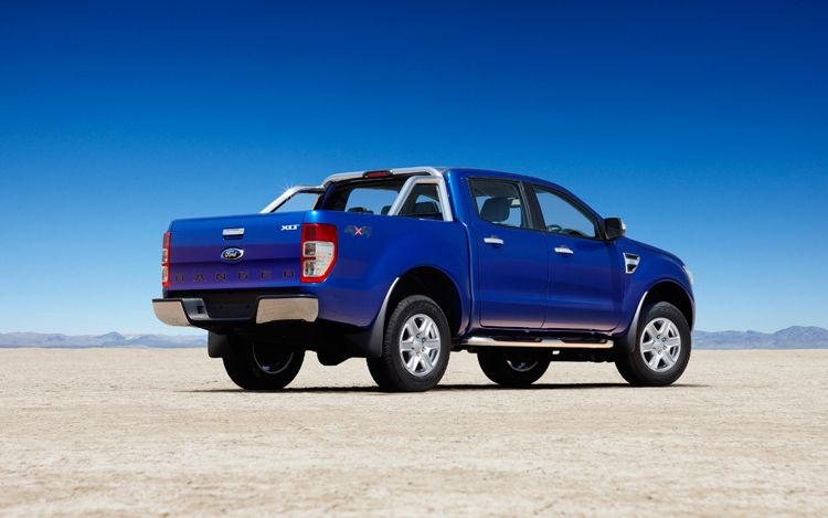 2012 Ford Ranger Rear Three Quarters