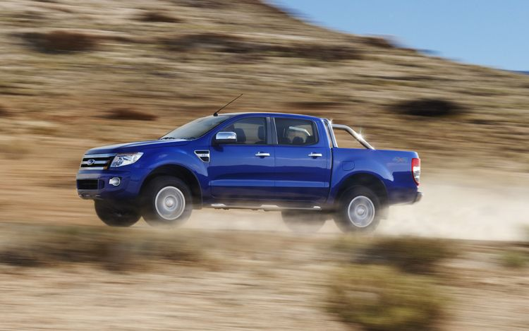 2012 Ford Ranger Side