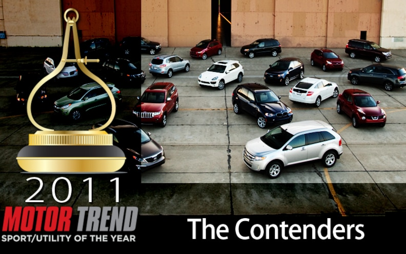 Motor Trend's 2012 SUV of the Year: The Contenders