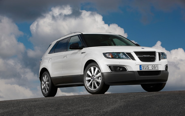 First Look: 2011 Saab 9-4x
