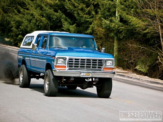 1979 ford f250 diesel engine