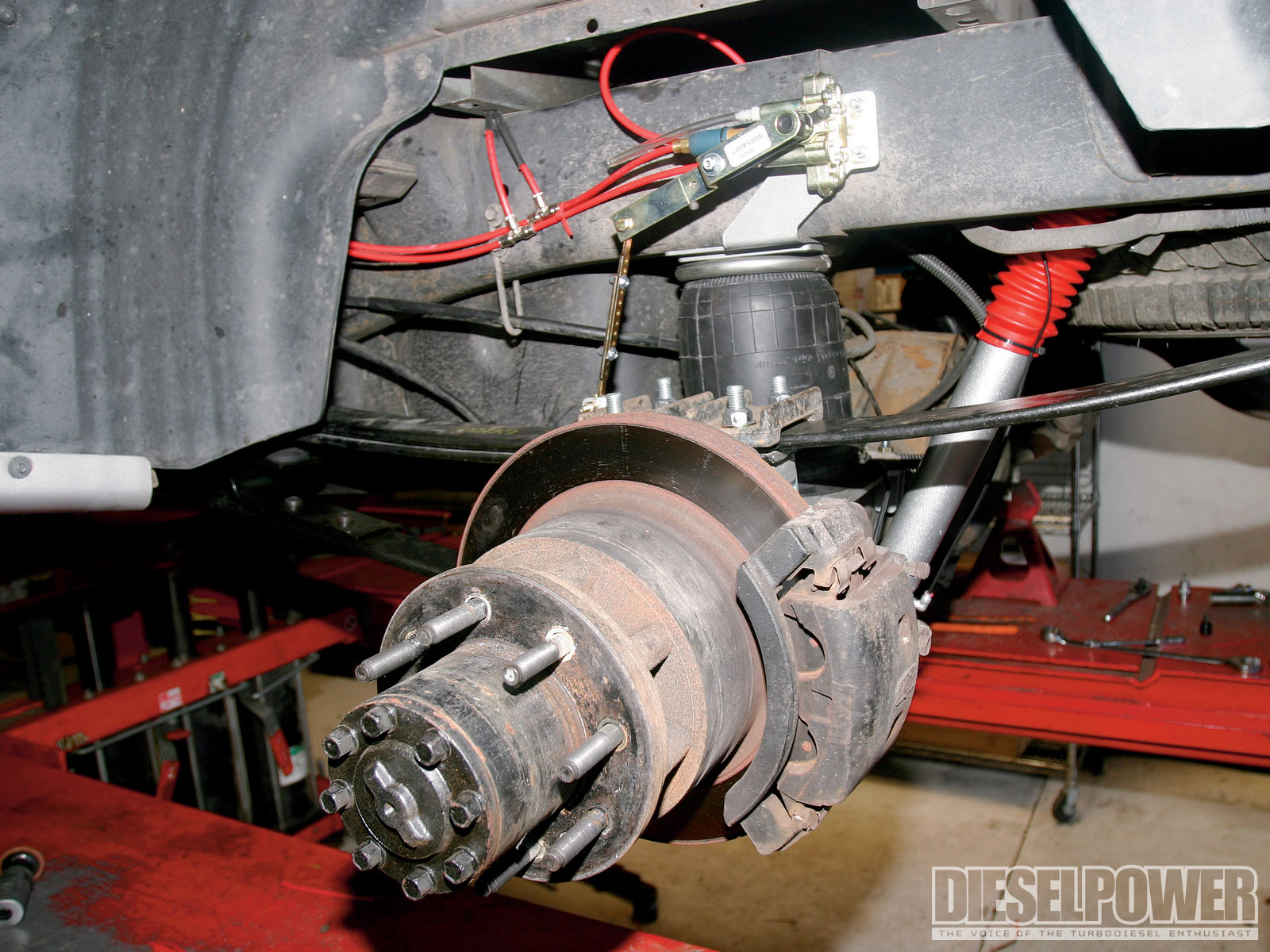 2005 Dodge Ram 3500 Air Suspension Install Diesel Power Magazine