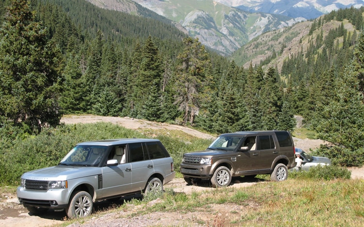 Range Rover Rocky Mountain High Old Mines