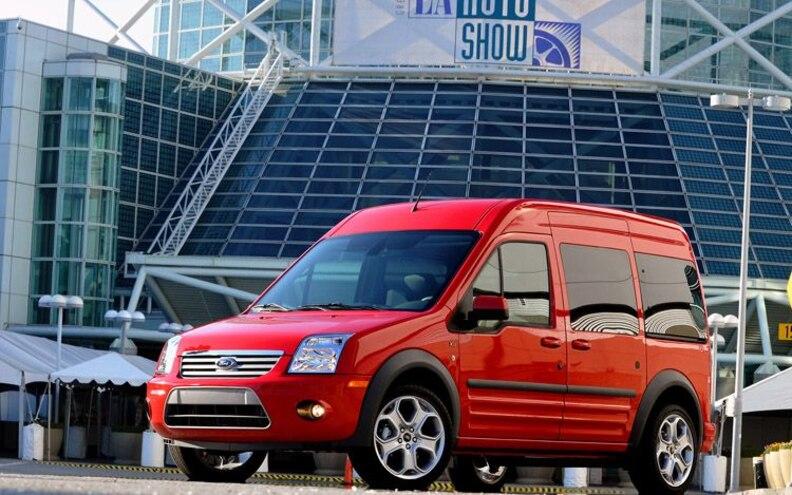 2011 Ford Transit Connect XLT Premium Van Pricing Starts at $23,895