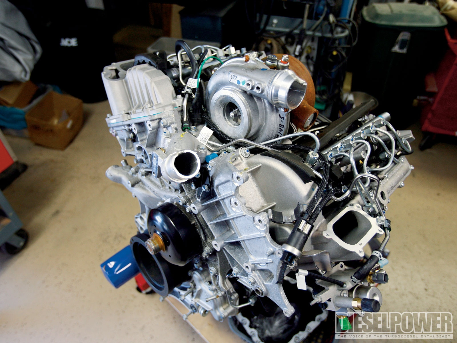 4 5l Duramax Diesel V 8 Project Diesel Power Magazine