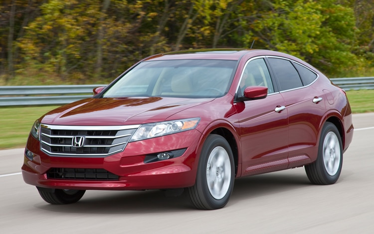 2011 Honda Accord Crosstour EX Front View In Motion