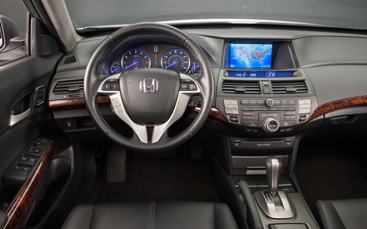 2011 Honda Accord Crosstour EX Dash View With Navi