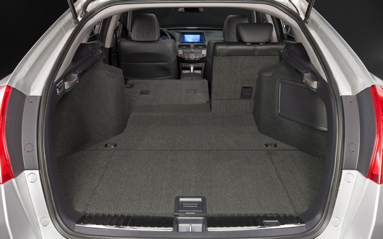 2011 Honda Accord Crosstour Rear Interior Hatch View