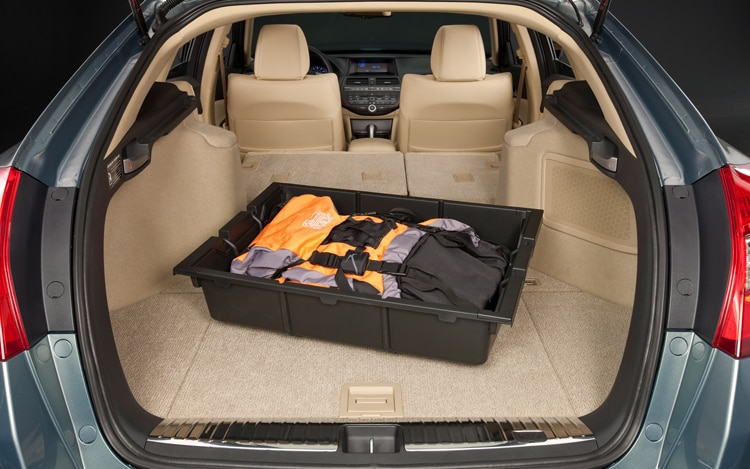 2011 Honda Accord Crosstour Rear Interior Cargo Space