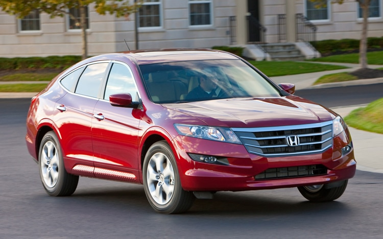 2011 Honda Accord Crosstour Front View In Motion