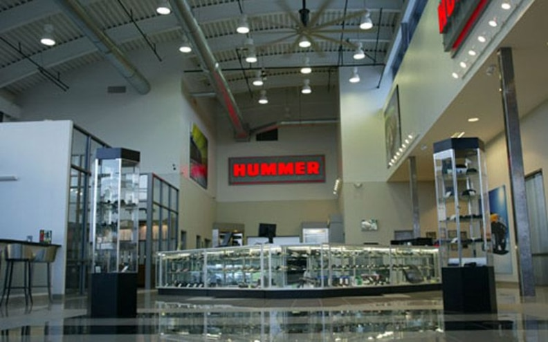 guns And Hummers showroom View
