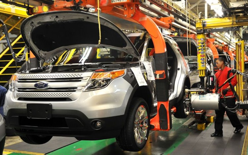 All-new 2011 Ford Explorer Begins Production in Chicago