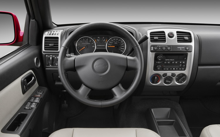 2011 Chevrolet Colorado Dash View