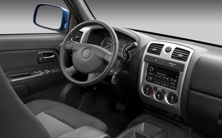 2011 Chevrolet Colorado Interior