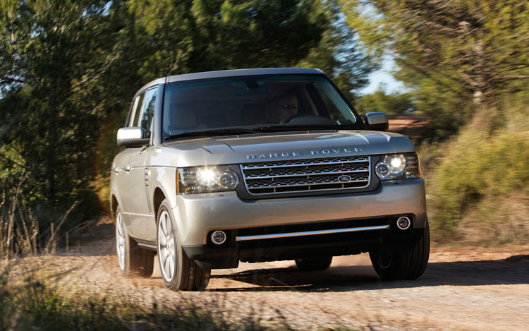 2010 Land Rover Range Rover Supercharged Front End