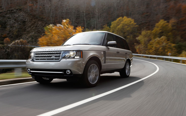 2010 Land Rover Range Rover Supercharged Front Three Quarters In Motion