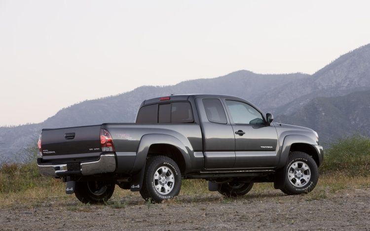 2011 Toyota Tacoma Rear Three Quarter