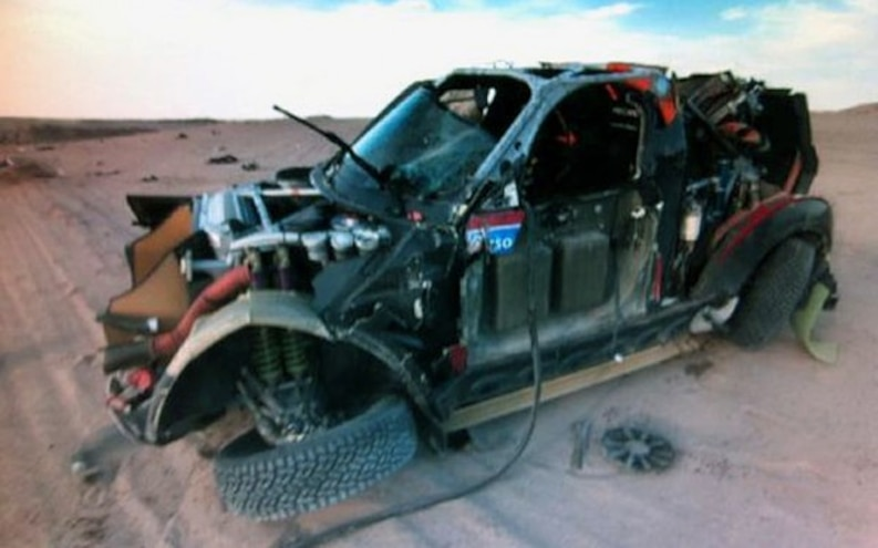 Such is Racing: Mini Countryman Crashes Out of Dakar Rally During Test Run