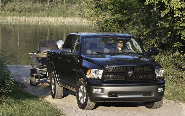 2011 Dodge Ram 1500 Outdoorsman Towing 2