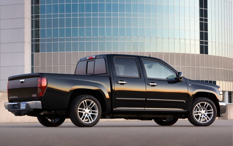 2011 GMC Canyon Rear View