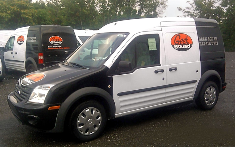 Best Buy Orders Ford Transit Connects and E-Series Vans For Geek Squad
