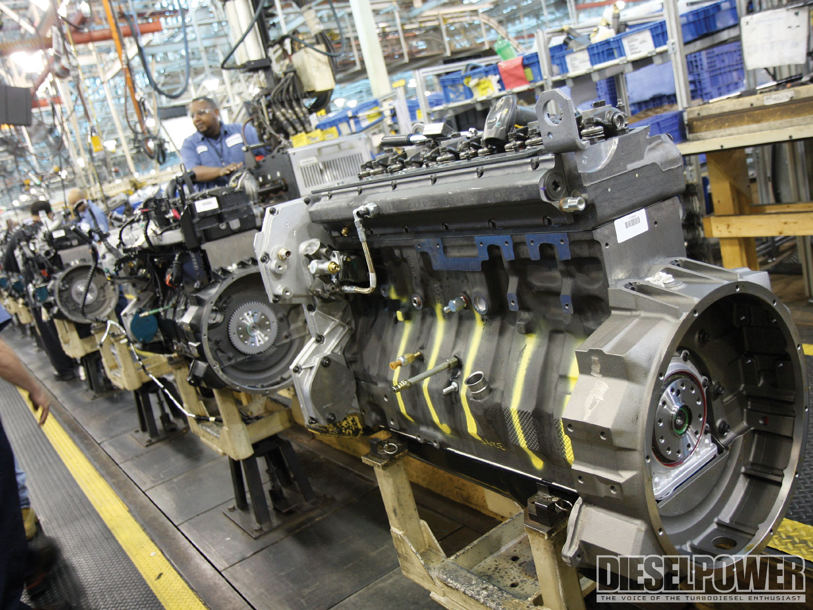 Building The Legendary Navistar DT466 Photo & Image Gallery