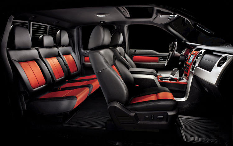 2011 Ford F 150 SVT Raptor Interior View