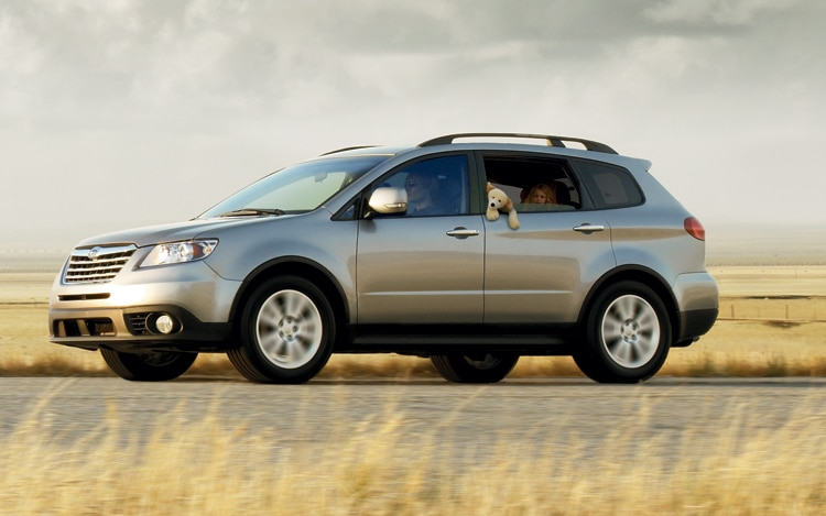 2011 Subaru Tribeca Front Three Quarters