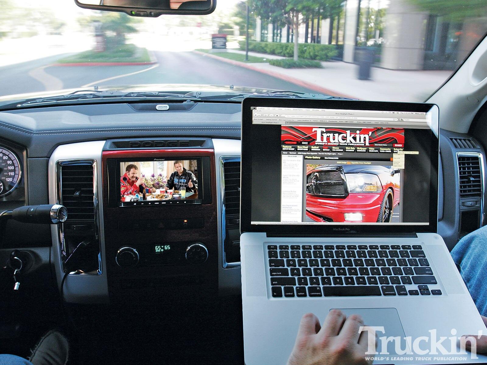 2009 Dodge Ram Upgrades - Mopar UConnect Web Mobile Wi-Fi