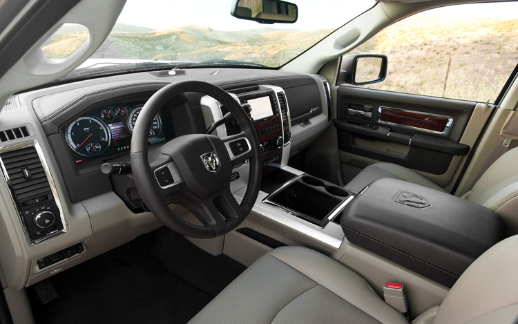 2010 Dodge Ram HD Laramie Cockpit