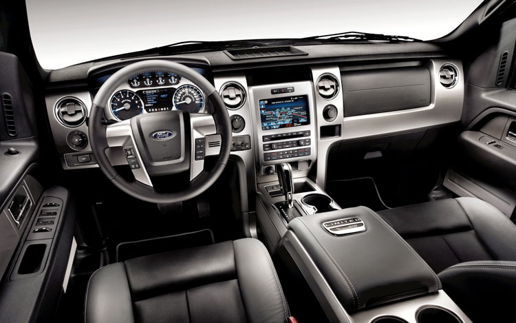 2011 Ford F 150 LTD Dash