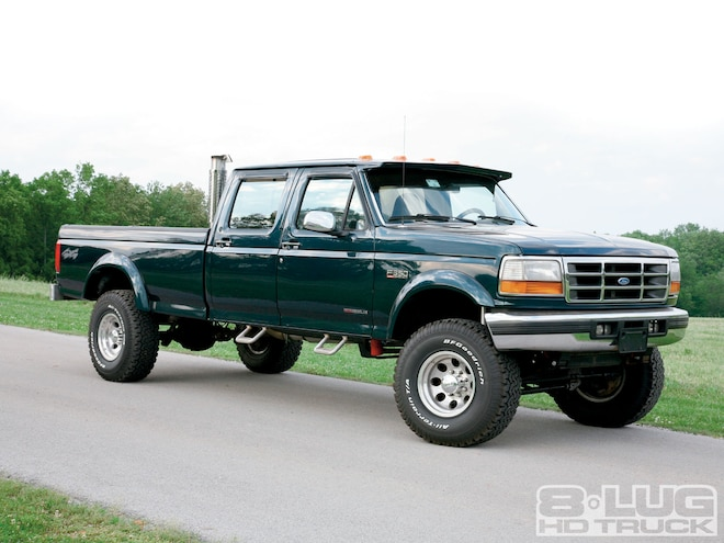 1996 Ford F350 Super Duty - Complete Transformation