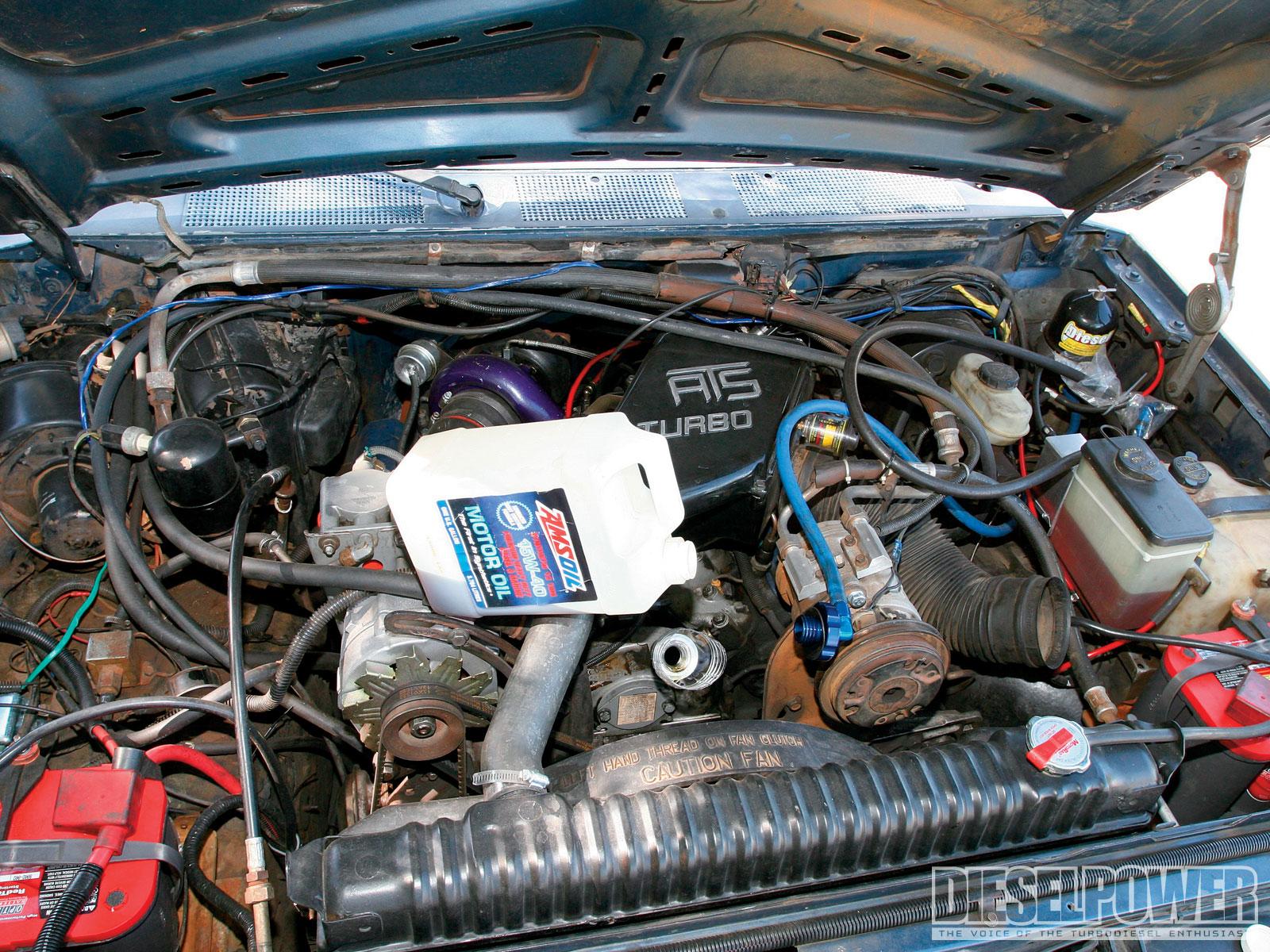 1987 Ford F-250 6 9l  Project 300
