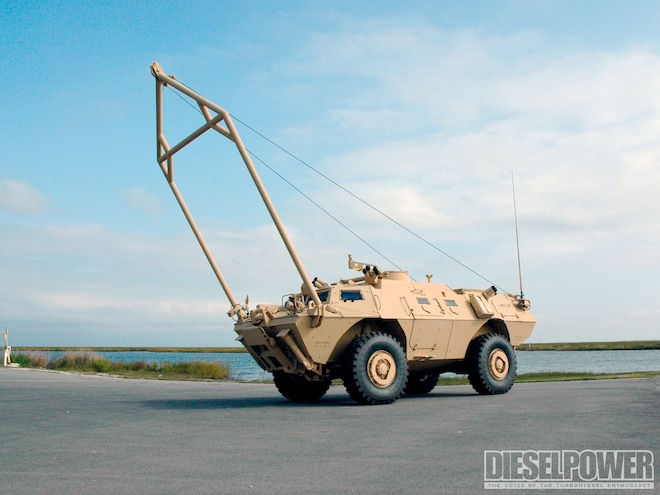 The Maintenance Armored Security Vehicle (ASV)