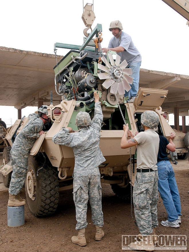 1011dp The Maintenance Armored Security Vehicle cummins Diesel Engine