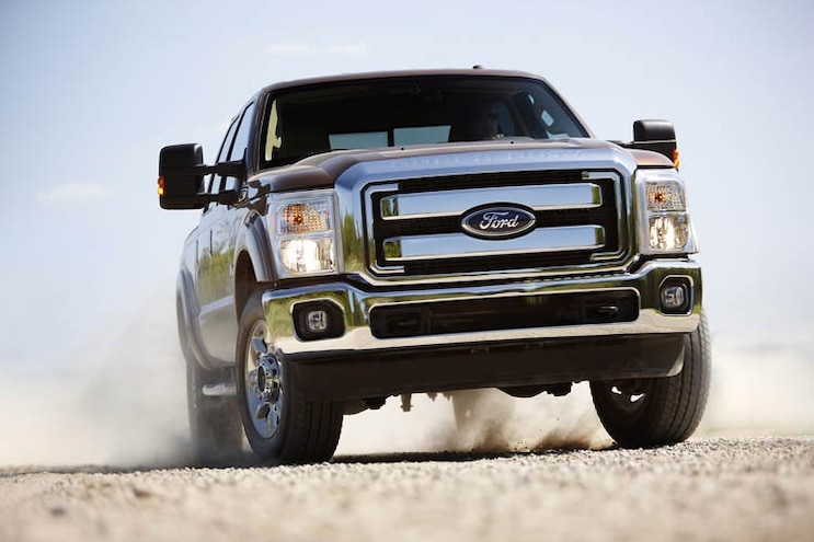 04 2011 Ford Super Duty Front View