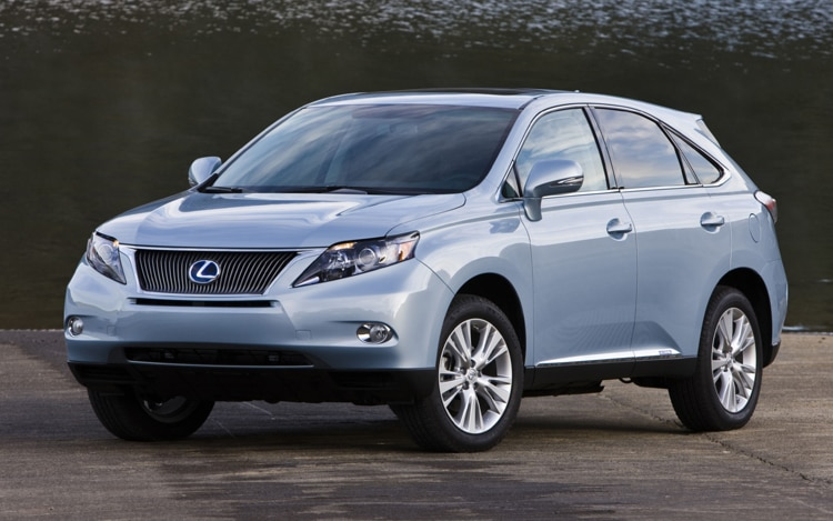 2011 Lexus RX 450h Photo Gallery