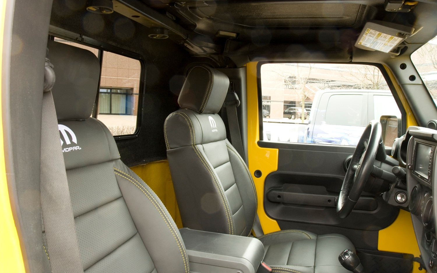 2011 Jeep Wrangler Jk8 Pickup Conversion Interior View
